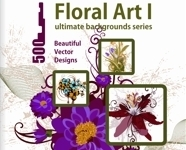 Floral Art Background Collection 1