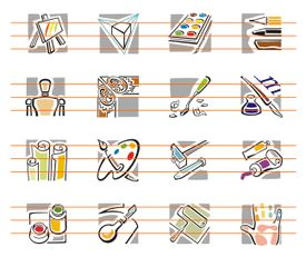 Art Vector Icons Collection