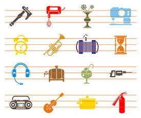 Bonus Objects Vector Icons Collection