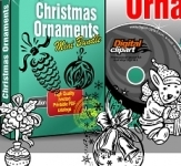 Christmas Ornaments Design and Elements Collection