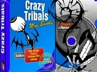 Crazy Tribals Design and elements Collection