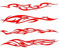 Power_Tribal_Flames_Vector_Collection_Download